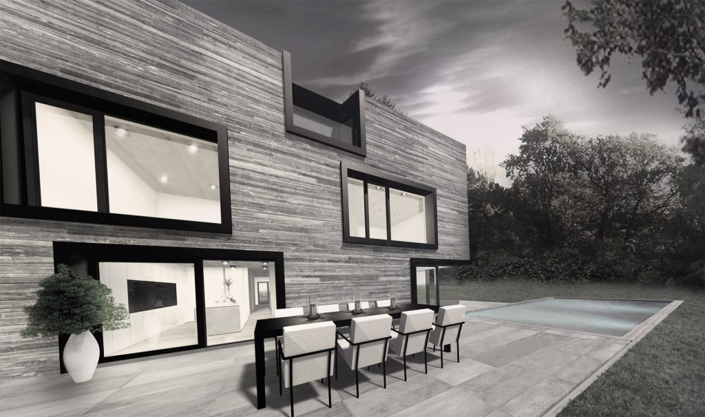 Bongard architectes for Habitation individuelle